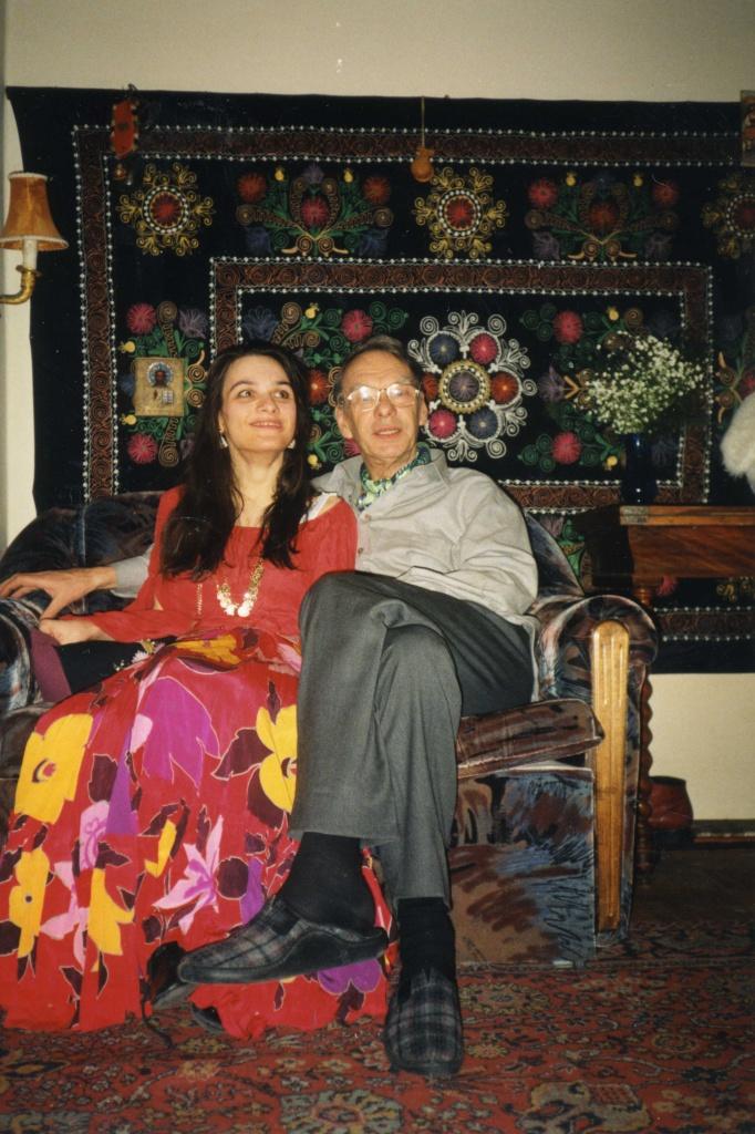 Алексей Баталов и Мария