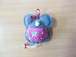 Мышь текстильная