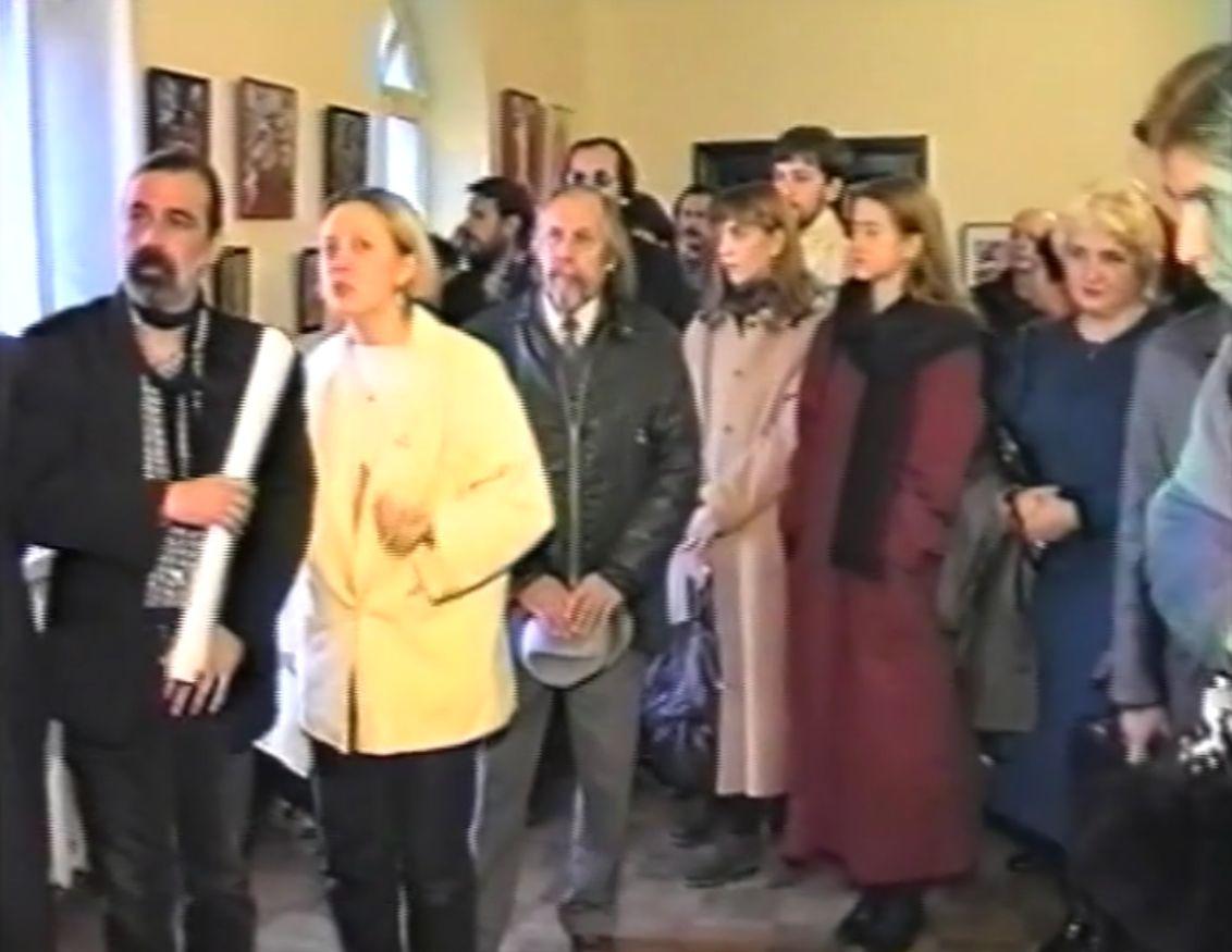 На выставке в доме ксендза