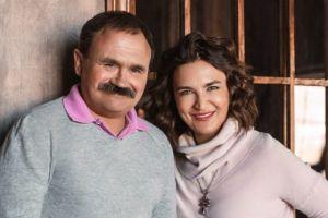 Фотография писателей Анны и Сергея Литвиновых.