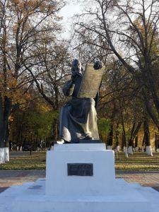 Памятник Андрею Рублеву во Владимире