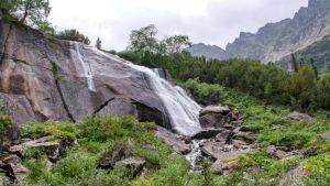 Водопад Шумилиха на территории Баргузинского заповедника