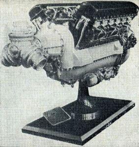 Мотор АМ-34 на ПАрижской международной выставке. 1937 год