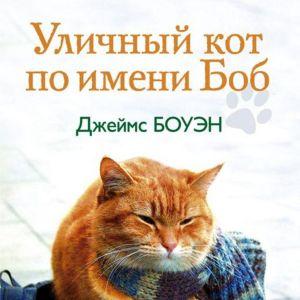 """Обложка книги """"Уличный кот по имени Боб"""""""