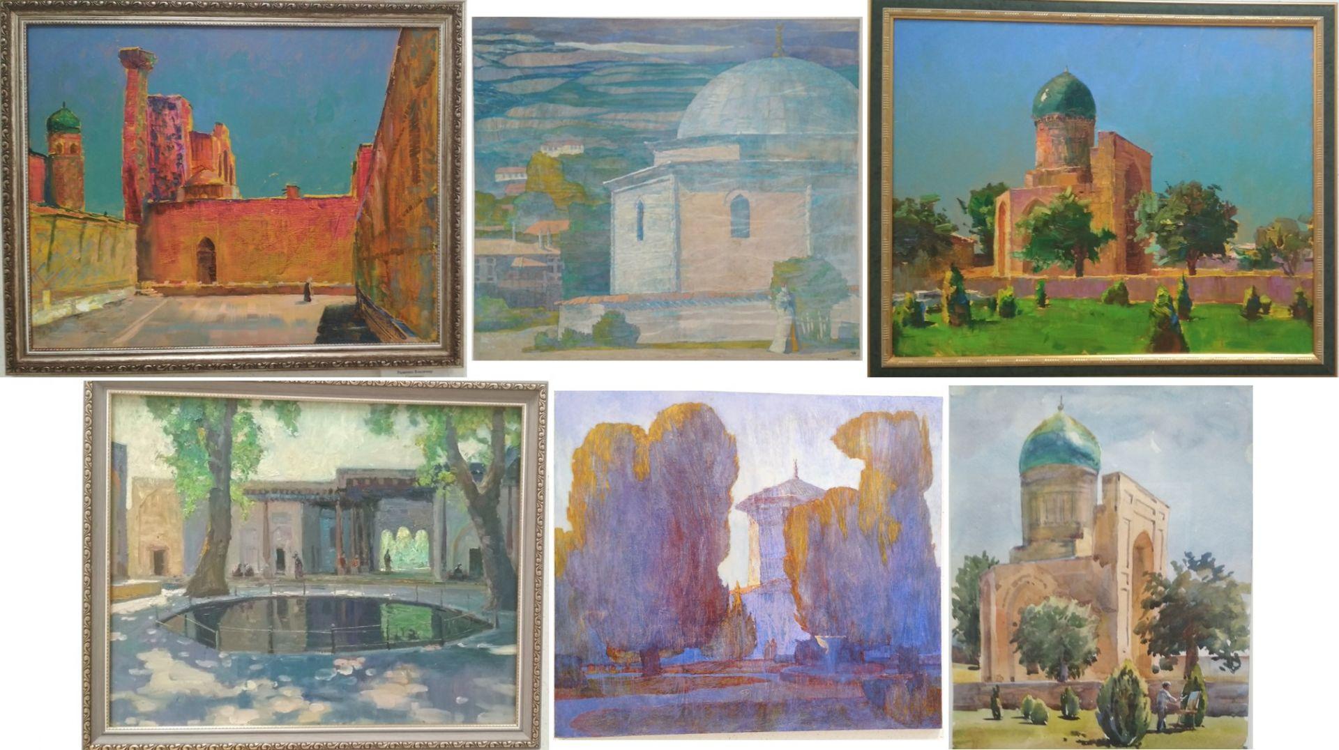 Некоторые работы с выставки