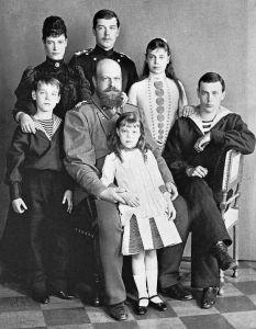 Александр III в кругу семьи