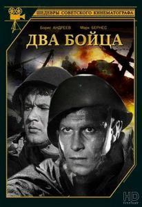 """Обложка DVD-версии фильма """"Два бойца""""."""