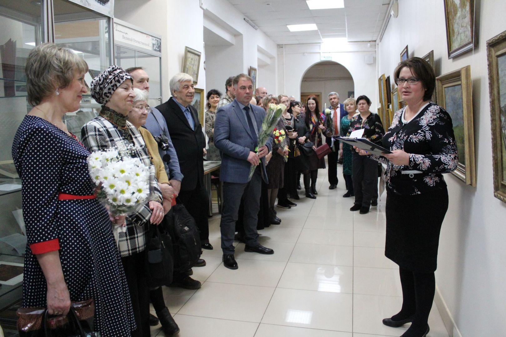 Открытие выставки Смирнова