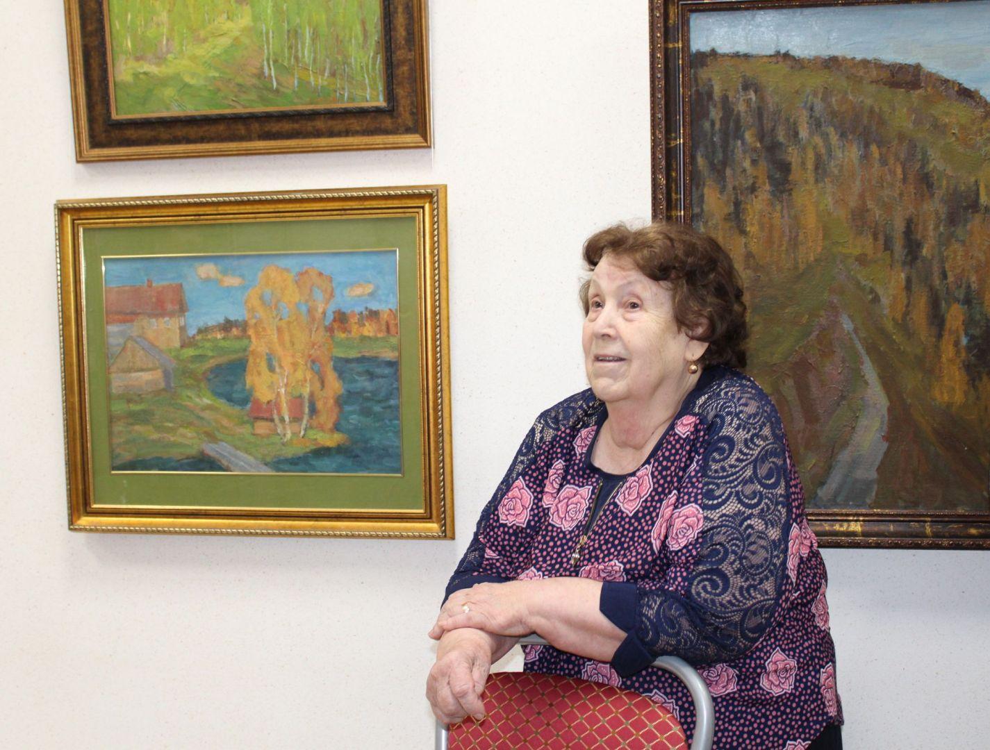 Вдова художника Смирнова Валерия Михайловна