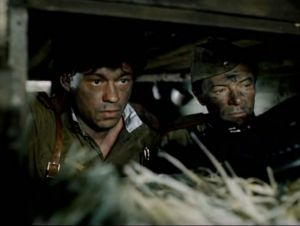 "Кадр из фильма ""Батальоны просят огня"""