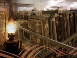 Старые книги и Георгиевская лента