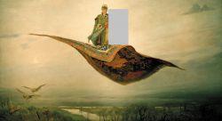 Картина В. М. Васнецова «Ковер-самолет»