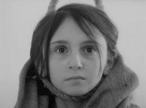 """Виктория Гольдентул в роли Баси. Кадр из фильма """"Восхождение"""""""