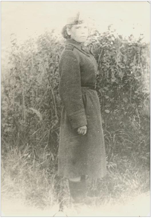 Надежда Зорина (Тюленева) в годы войны