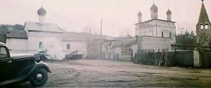 Кадр из фильма. Сретенский монастырь