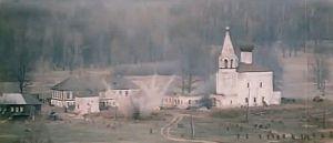 Кадр из фильма. Знаменский монастырь