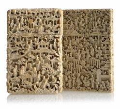 Книжный блок из кости