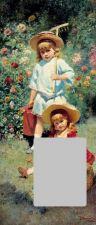 Картина К. Е. Маковского «Портрет детей художника»