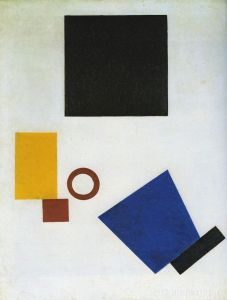 Картина К. С. Малевича «Супрематизм: автопортрет в двух измерениях»
