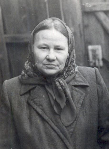 Мария Алексеевна Ушанова. 1950-е гг.