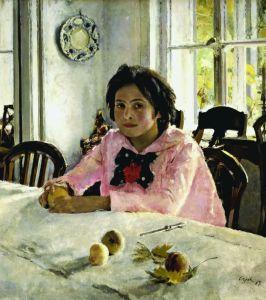 Картина В. А. Серова «Девочка с персиками»