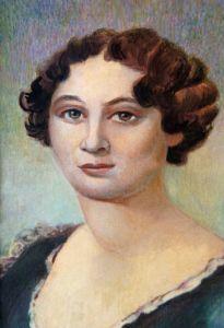 Портрет В. П. Тургеневой (Лутовиновой), матери И. С. Тургенева