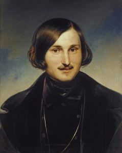 """Моллер Ф. А. """"Портрет писателя Н. В. Гоголя"""", 1841 год"""