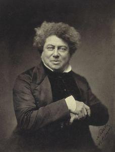 """Фотография Ф. Надара """"А. Дюма"""", 1855 год"""