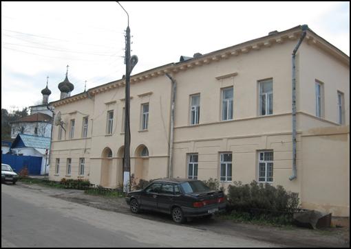 Здание, в котором районная библиотека располагается с середины 1930-х гг.