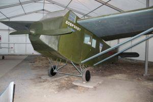 Легкий пассажирский самолёт АК-1 (разработчики В.Л.Александров, В.В.Калинин), 1920-е гг.