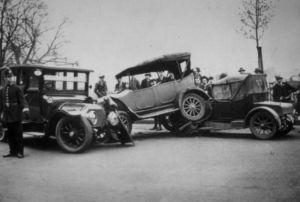 первая автомобильная авария