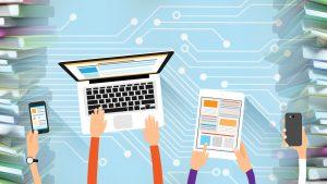 Работа с электронными ресурсами