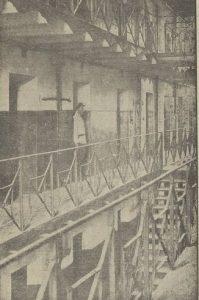 Внутренний вид одиночного корпуса владимирской каторжной тюрьмы