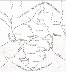 Стародубское княжество в XIII-XIV веках