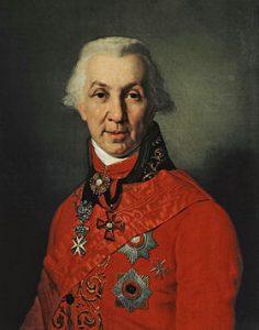 """Портрет В. Л. Боровиковского """"Г. Р. Державин"""", 1795 год"""