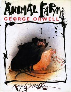 обложка книги с двумя свинками