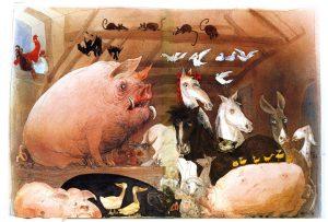 Собрание на ферме животных