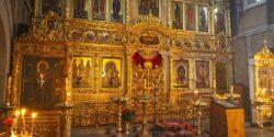 Иконостас церкви Всех Святых на Кулишках