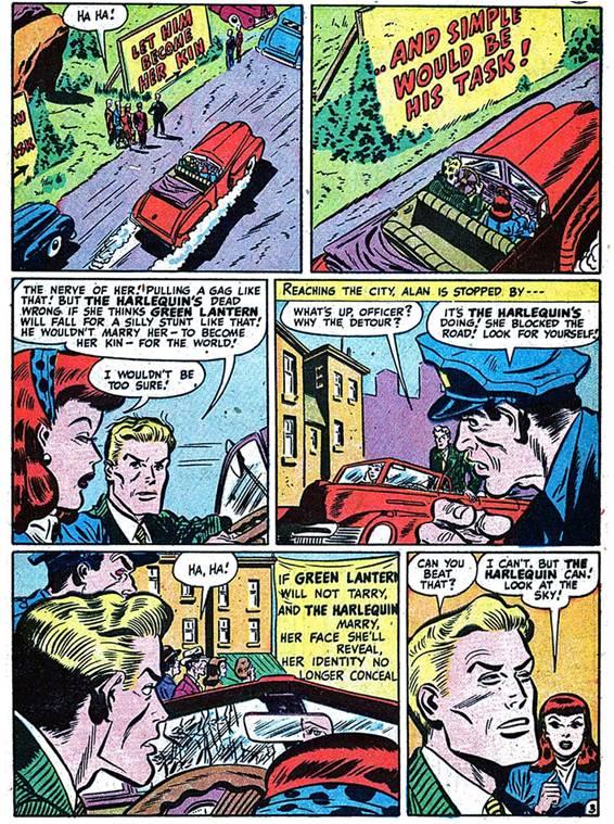 Американский комикс 1939 г.