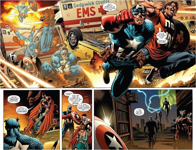 Американский комикс 2011 г.