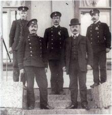 Члены следственной комиссии и сыскной полиции в Выборгской губернии