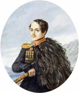 М. Ю. Лермонтов «Автопортрет», масло, 1837-1837