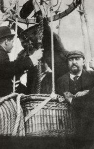 А. И. Куприн во время полёта на воздушном шаре