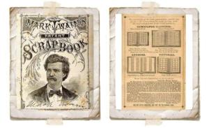Страницы из патента «самоклеящегося  альбома» Марка Твена