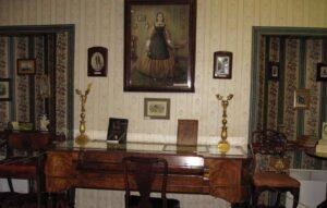 Экспонаты музея-усадьбы