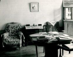 Фото. Интерьер квартиры И. Бунина в Париже. Из открытого источника.