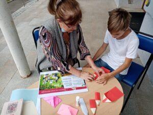 Мастер-класс по изготовлению закладок в технике оригами