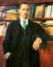 И.А. Бунин. Портрет В.Росинского.
