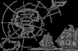 схема маршрута экспедии