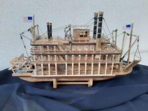модель парохода